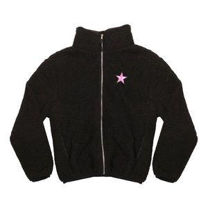 Jeffree Star Fuzzy Black Jacket Valentines Day